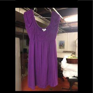 Women's purple summer dress